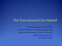 The Transitional Care Model