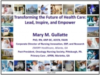 Transforming the Future of Healthcare: Lead, Inspire, and Empower