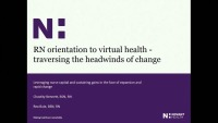 Traversing the Headwinds – Leveraging Nurse Capital and Sustaining Gains in the Face of Expansion and Change