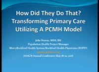 How Did They Do That? Transforming Primary Care Utilizing a PCMH Model of Care