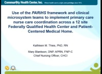 Use of the Parihs Framework and Clinical Microsystem Teams to Implement Primary Care Nurse Coordination across a 12-Site Federally Qualified Health Center and Patient-Centered Medical Home